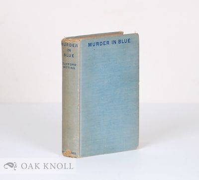 New York: Charles Scribner's Sons, 1937. cloth. Detective Fiction. 8vo. cloth. 320 pages. First edit...
