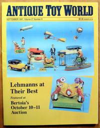 Antique Toy World Magazine.September 1997.