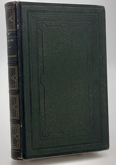 Paris. : Morizot., 1862. Contemporary quarter green morocco over stippled cloth boards, raised bands...