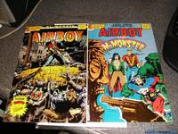 *Gilbert Signed* Airboy 28 & Airboy-Mr. Monster Special 1 (1987, Comic)