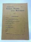 Sudan Notes and Records Volume 1 No. 1