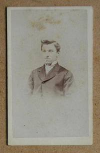 Carte De Visite Photograph: Portrait of a Young Man. by E. Hide - from N. G. Lawrie Books. (SKU: 22599)