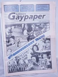 image of Gaypaper [aka Baltimore Gay Paper] vol. 10, #11, Friday September 2, 1988: 9th anniversary issue
