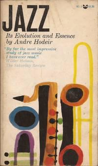 "image of Jazz: Its Evolution and Essence (""Hommes et problèmes du jazz"" original title)."