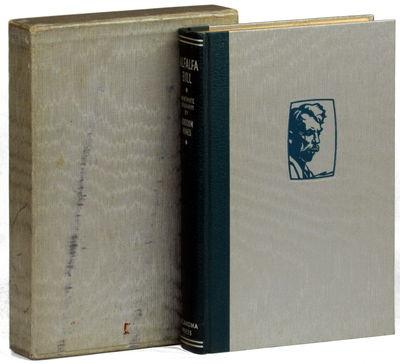 Oklahoma City: Oklahoma Press, 1932. Hardcover. Very good. #234 of 325 copies set apart for private ...