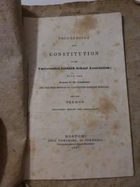Proceedings and Constitutions of the Universalist Sabbath School Association