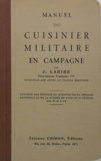MANUEL DU CUISINIER MILITAIRE EN CAMPAGNE