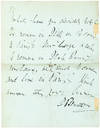 View Image 2 of 3 for Rare Letter by James Gordon Bennett Who Sent Stanley in Search of Livingstone Inventory #21176