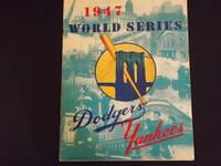 1947 World Series. Dodgers, Yankees, Official Program.