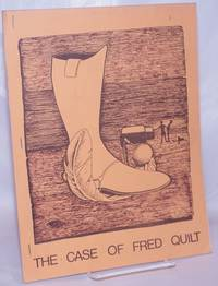 image of The case of Fred Quilt [cover title] Fred Quilt is dead [caption title]