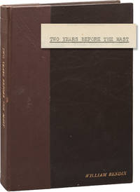 Two Years Before the Mast (Original screenplay for the 1946 film, presentation copy belonging to William Bendix)