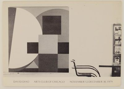 Chicago, IL: The Arts Club of Chicago, 1979. First edition. Exhibition brochure for a show that ran ...