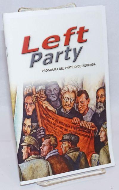 San Francisco: Organizacion Socialista de los Estados Unidos de Norteamerica en Solidaridad con Izqu...