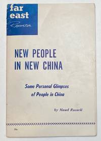 image of New people in New China: Some personal glimpses of people in China