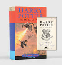 Harry Potter and the Goblet of Fire. by  J. K ROWLING - Signed First Edition - 2000 - from Peter Harrington and Biblio.com