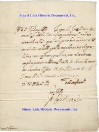 Sixtus V Signs A Letter As Pope
