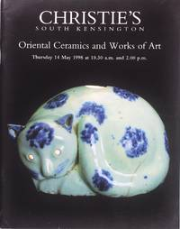 image of Christie's Oriental Ceramics and Works of Art (14 May 1998)