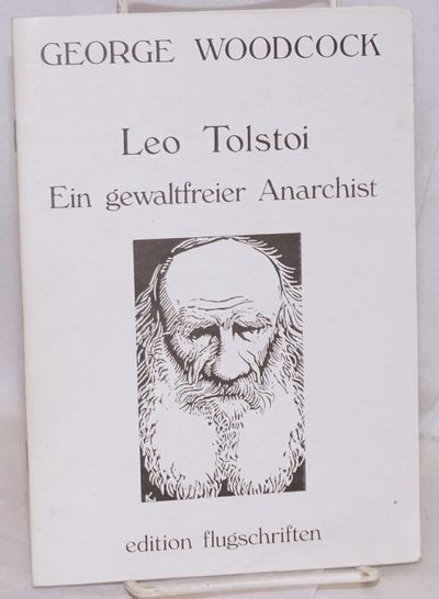 Ulm, Germany: Edition Flugschriften, 1987. 35, p., wraps, first edition. Text in German.