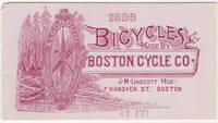 Advertising package for Boston Cycle Company, a short-lived bicycle manufacturer