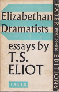 three essays by t.s. eliot The love song of j alfred prufrock by ts eliot is a poem that is said to have been written over the days he was in harvard in 1910 despite the.