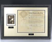 image of John Hancock Signed Document.