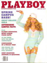 Playboy Magazine April 1993