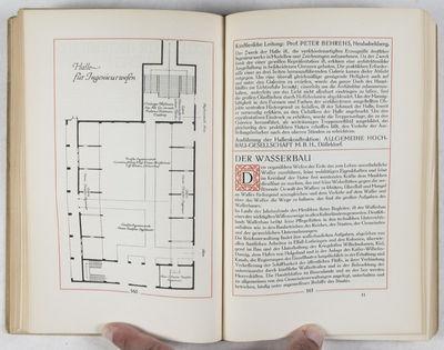 Berlin: Georg Stilke, 1910. First edition. Hardcover. vg. Quarto. 12 leaves, 375pp., (1)51pp. ads. O...