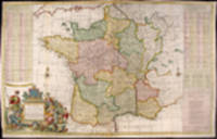 A New and Exact Map of France Dividid into all its Provinces and Acquisitions, according to the Newest Observations, and that accurate Survey made by the King's Command by Mr. Picar and de la Hire, with the Post Roads and the Computed Leagues from Town to Town, and the Passes of the Pirenean Mountains and many other Remarcks &c