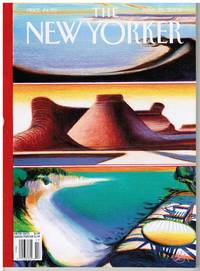 image of NEW YORKER: JOURNEYS ISSUE. COVER LANDSCAPES by LORENZO MATTOTTI