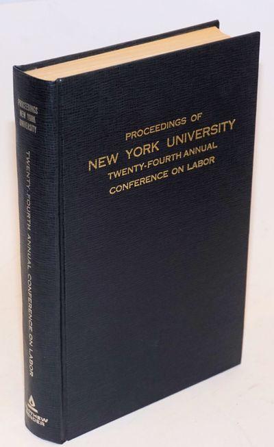 New York: Matthew Bender, 1972. iv, 355p., hardback without dj, clean, tight binding. Articles on va...