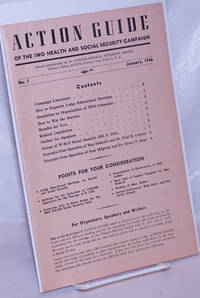 image of Action Guide of the IWO Health and Social Security Campaign. No. 1 (January 1946)