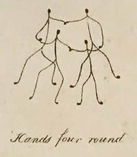 Dottator et Lineator Loquitur (caricature print)