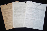 image of 3 BuAer Logs from the Navy Department, Bureau of Aeronautics