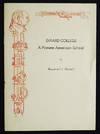 Girard College: A Pioneer American School