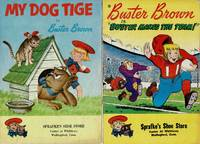 """image of """"MY DOG TIGE"""" & """"BUSTER BROWN MAKES THE TEAM"""" (2 COMIC BOOKS, 1957, 1959)"""