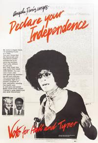 image of Angela Davis urges- Declare Your Independence