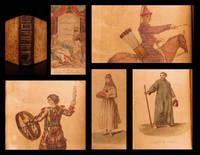 Costumes civils actuels de tous les peuples connus dessinés d'après nature gravés et coloriés accompagnés d'une notice historique sur leurs coutumes, moeurs, religions... rédigés par M. Sylvain Maréchal