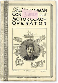 image of The Motorman, Conductor and Motor Coach Operator. Vol. 43, no. 11 [Official Convention Report, Sept. 9-14, 1935]