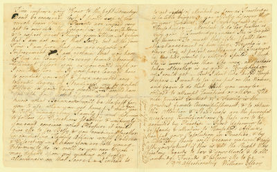Future signer of the Declaration of Independence, to his 14-year old daughter on the progress of her...