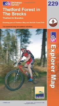 image of Thetford Forest in the Brecks (Explorer Maps) (OS Explorer Map Active)