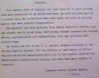 Begonia Glossary 1952