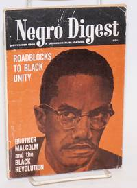 Negro digest; November 1968. Vol. XVIII, no. 1