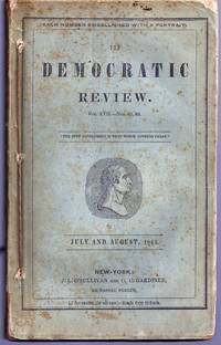 """""""Revenge and Requital. A Tale of a Murderer Escaped"""" in THE UNITED STATES MAGAZINE AND DEMOCRATIC REVIEW. Volume XVII, Nos. 85-87"""