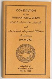 Constitution... Adopted at Cleveland, Ohio. March, 1955