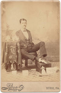 "[Cabinet Card Photograph of Charles Tripp, ""The Armless Wonder""]"