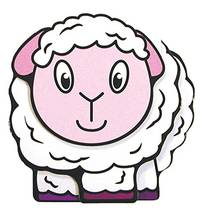 Baby Board Book - Lamb  3D Board Books by Igloo