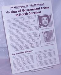 image of Victims of government crime in North Carolina. The Wilmington 10 - The Charlotte 3