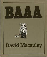 Baaa (First Edition, review copy belonging to writer George Zebrowski)