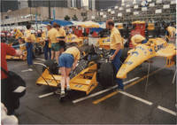 image of Archive of 120 vernacular photographs of the Detroit Grand Prix, 1986-1988