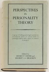 PERSPECTIVES IN PERSONALITY THEORY